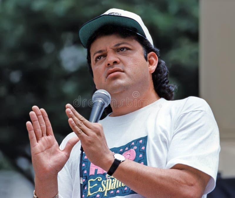 Paul Rodriguez au Festival de Comédie de Toyota photo libre de droits