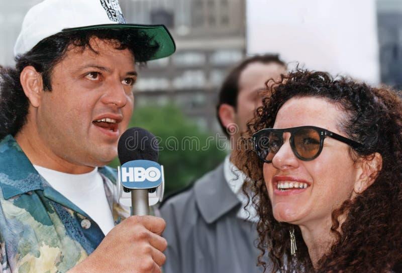 Paul Rodriguez & Susie Essman au Festival de Comédie de Toyota image libre de droits