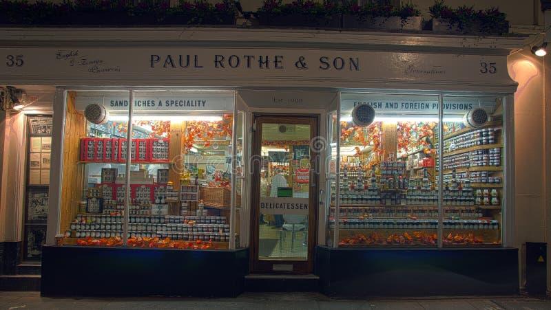 Paul Rothe & Son. royalty free stock photo