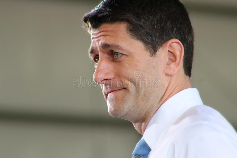 Download Paul Ryan Rally editorial stock photo. Image of politician - 27538363