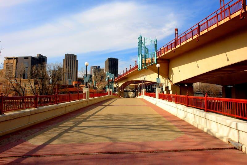Paul ' s bridge scarlet zdjęcie royalty free