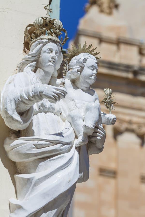 paul s för domkyrkafacademalta mdina st royaltyfri fotografi