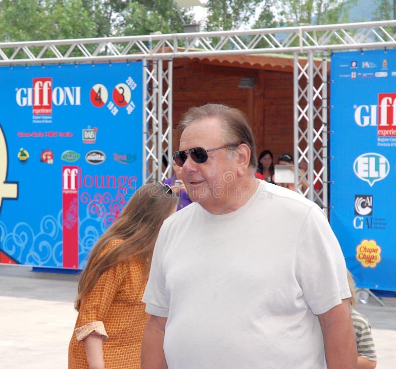 Paul Sorvino al Giffoni Film Festival 2013 fotografie stock libere da diritti