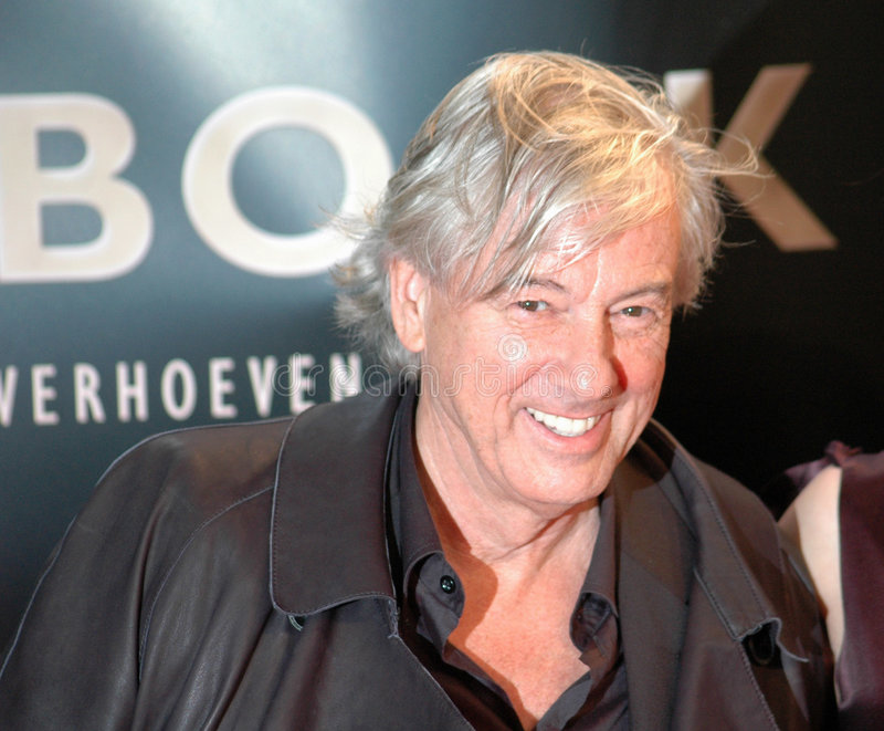 Paul Verhoeven. File image of 2007 stock images