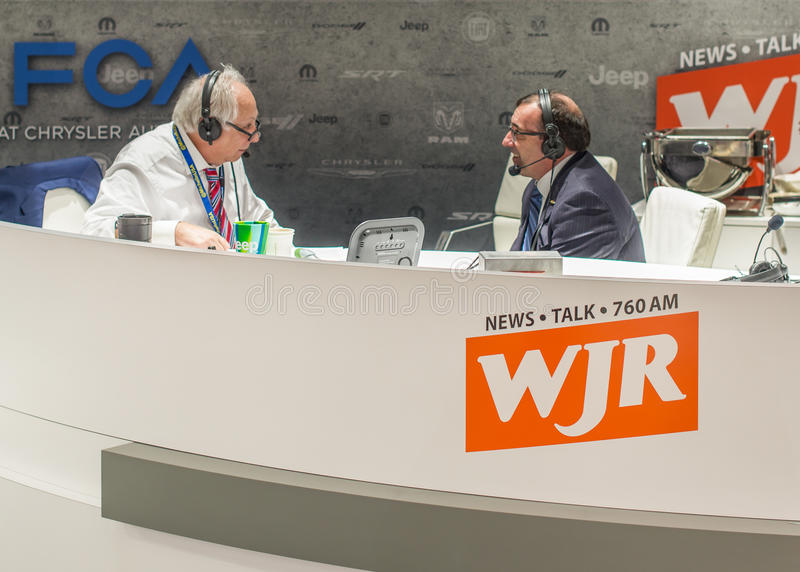 Paul W Smith, WJR, NAIAS fotos de archivo