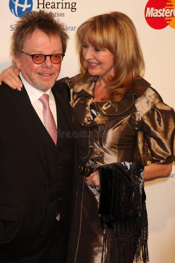 Paul Williams Barbra Streisand fotografering för bildbyråer