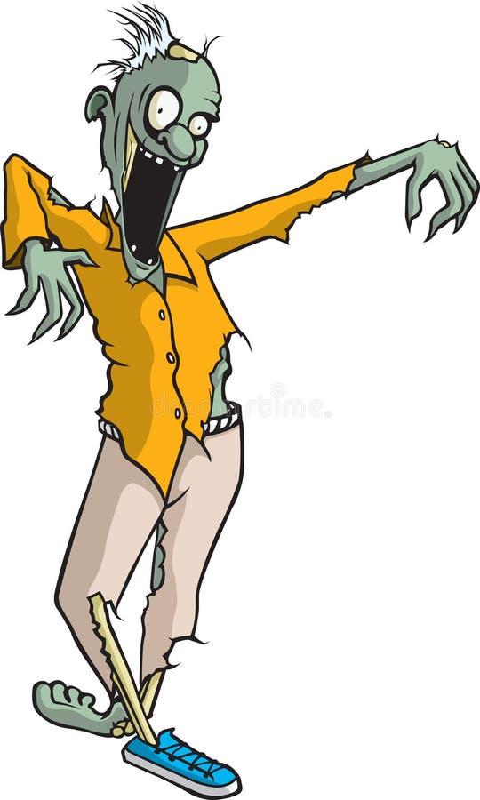 Paul Zombie illustrazione vettoriale