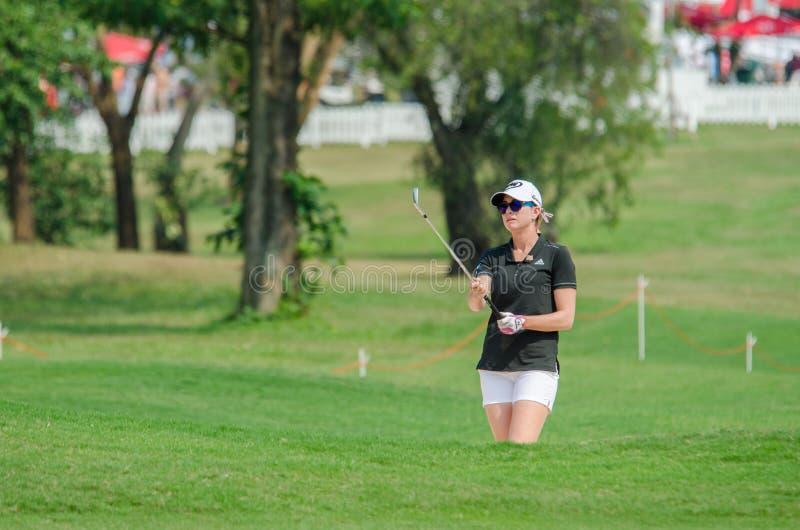 Paula Creamer des Etats-Unis dans Honda LPGA Thaïlande 2016 photos stock