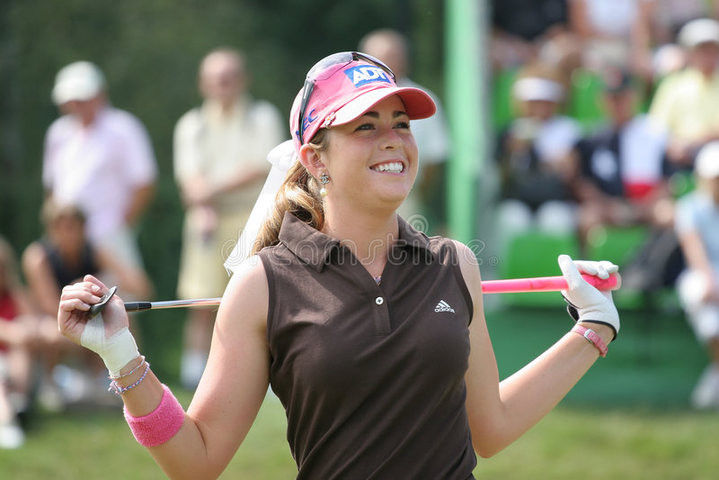 Paula Creamer Evian Golf Masters 2006 royalty free stock photos