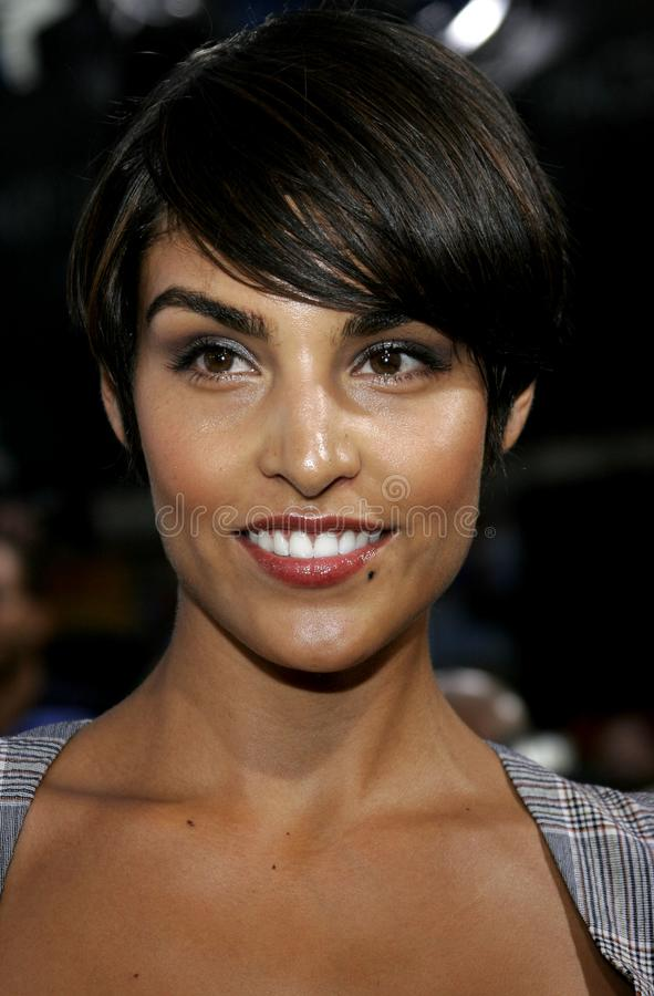 Paula Miranda. At the Los Angeles premiere of `Gridiron Gang` held at the Grauman`s Chinese Theatre in Hollywood, California United States on September 5, 2006 royalty free stock photo