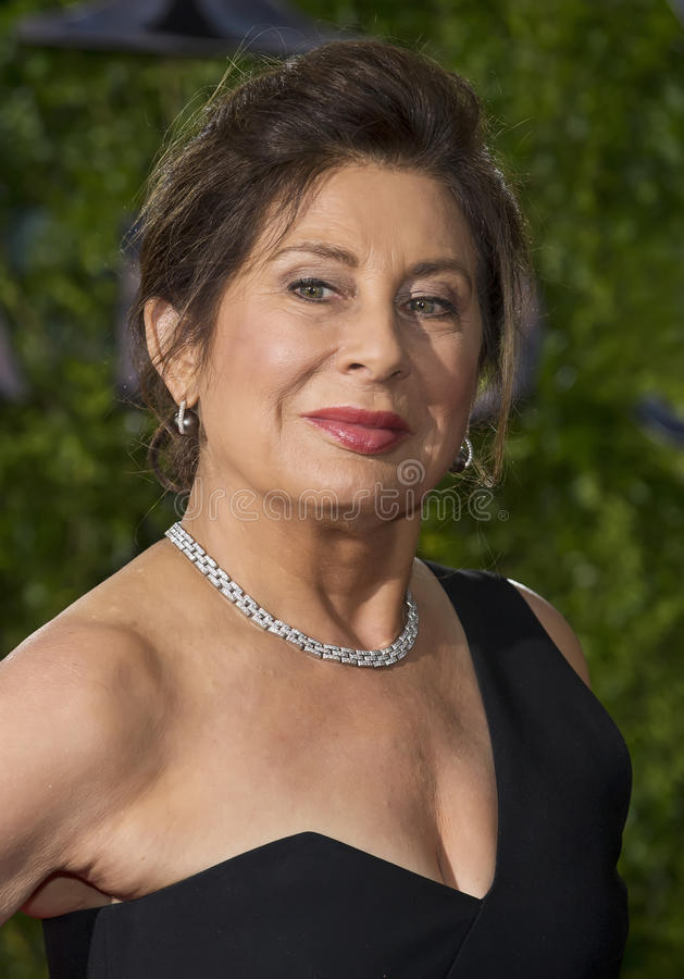 Paula Wagner Arrives bij 2015 Tony Awards stock afbeeldingen