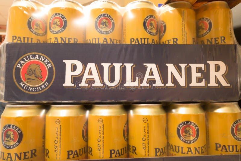 Download Paulaner fotografía editorial. Imagen de alemania, cerveza - 42425277