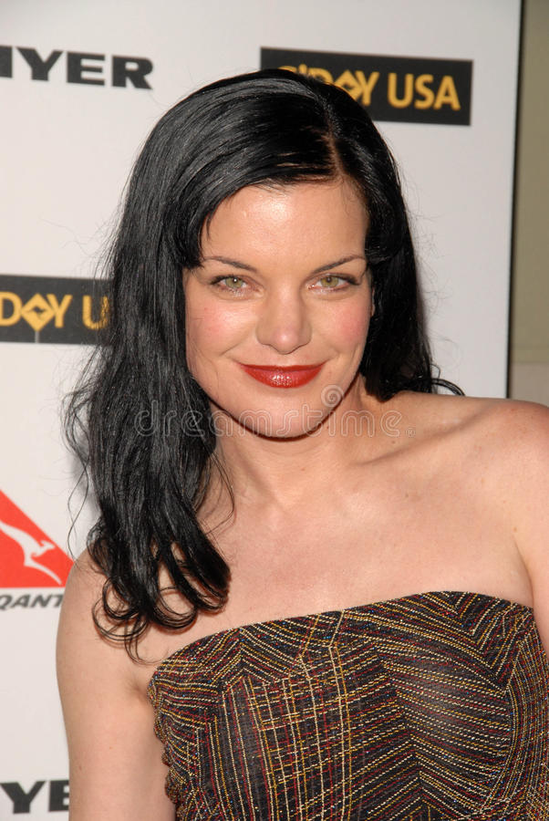 Download Pauley Perrette editorial stock image. Image of gala - 24726644