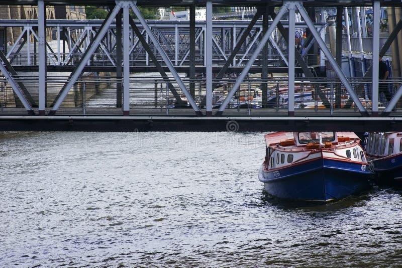 Pauli-embarcadero Hamburgo del St foto de archivo libre de regalías