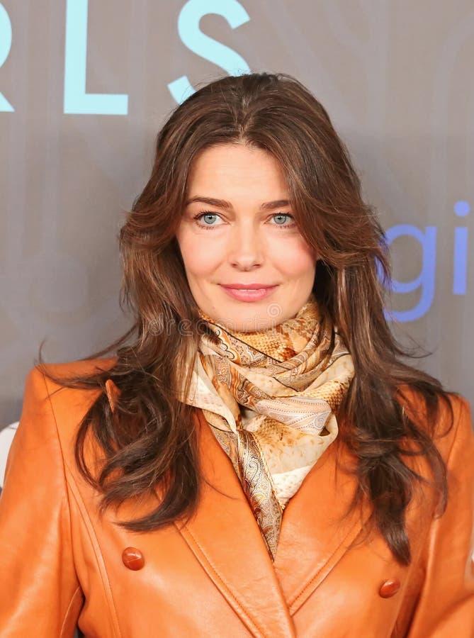 Paulina Porizkova stockfoto