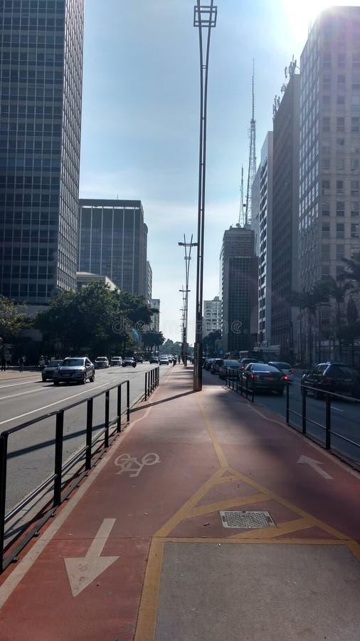 Paulista大道 免版税库存图片