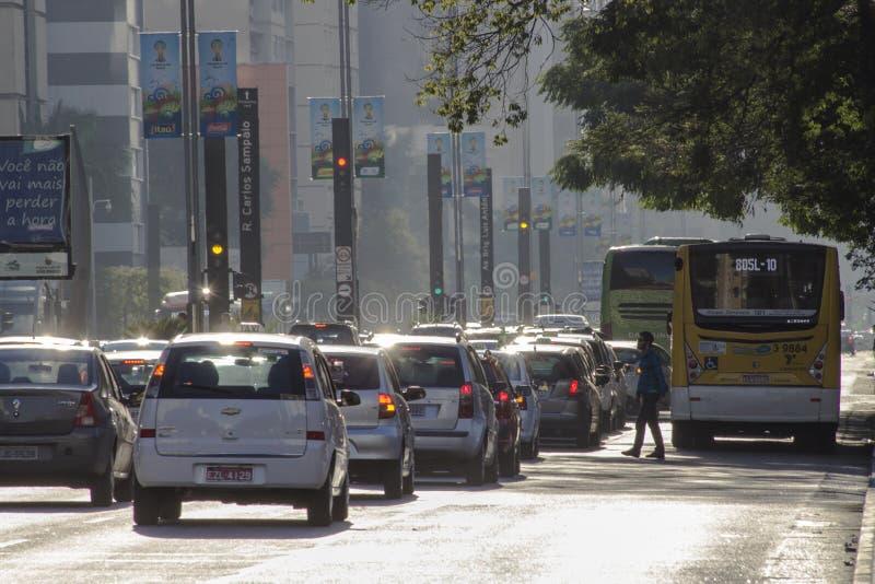 Paulista aveny arkivfoton