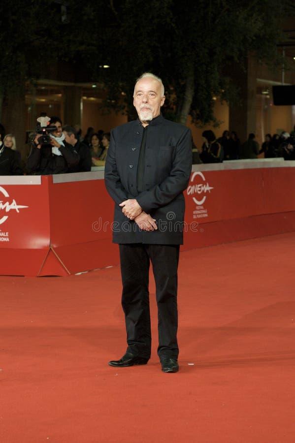 Paulo Coelho lizenzfreie stockbilder