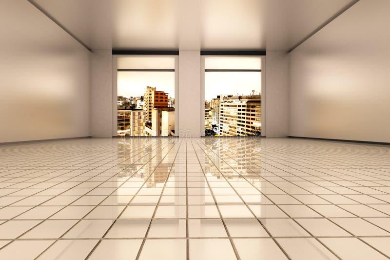 Paulo-Wohnung stock abbildung