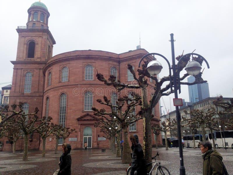 Paulskirche, église célèbre à Francfort Oder, Allemagne photographie stock