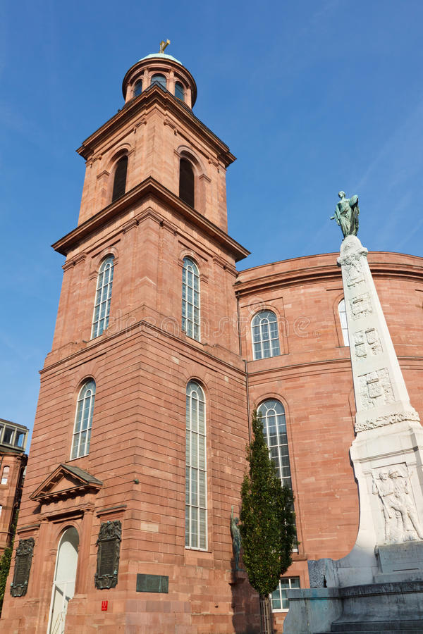 paulskirche frankfurt Германии стоковое изображение rf
