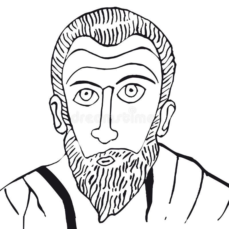 paulus wektor ilustracja wektor