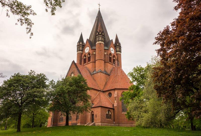 Pauluskirche Halle royaltyfri fotografi
