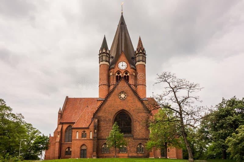 Pauluskirche Halle royalty-vrije stock fotografie
