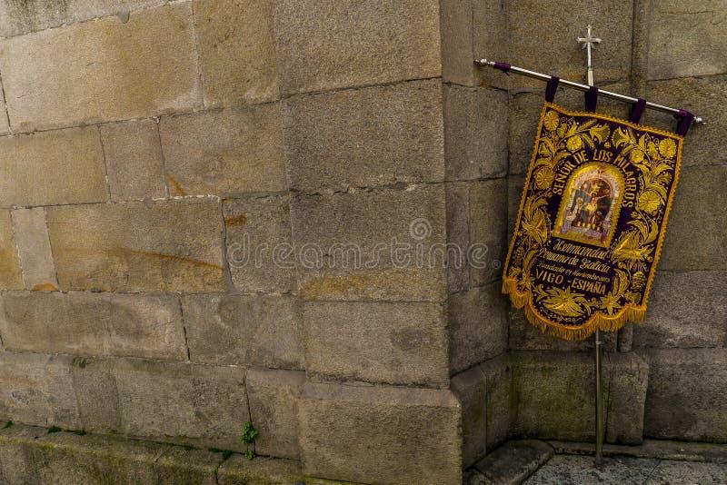 Paume dimanche à Vigo - en Galicie, Espagne photo libre de droits