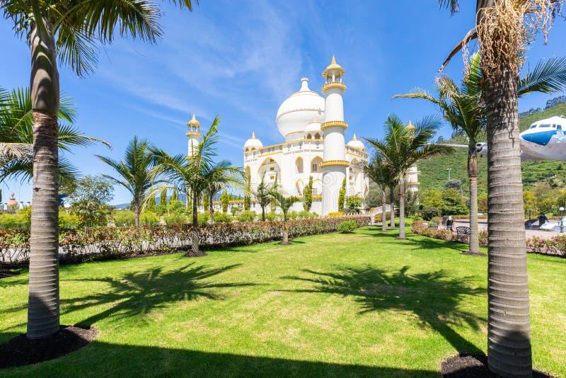 Paumes et Taj Mahal de Bogota Jaime Duque photo stock