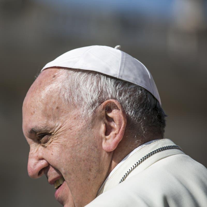 Paus Francis royalty-vrije stock fotografie