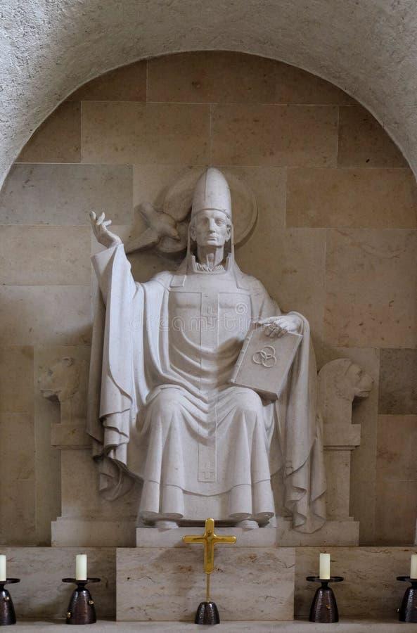 Paus Gregory I stock afbeeldingen
