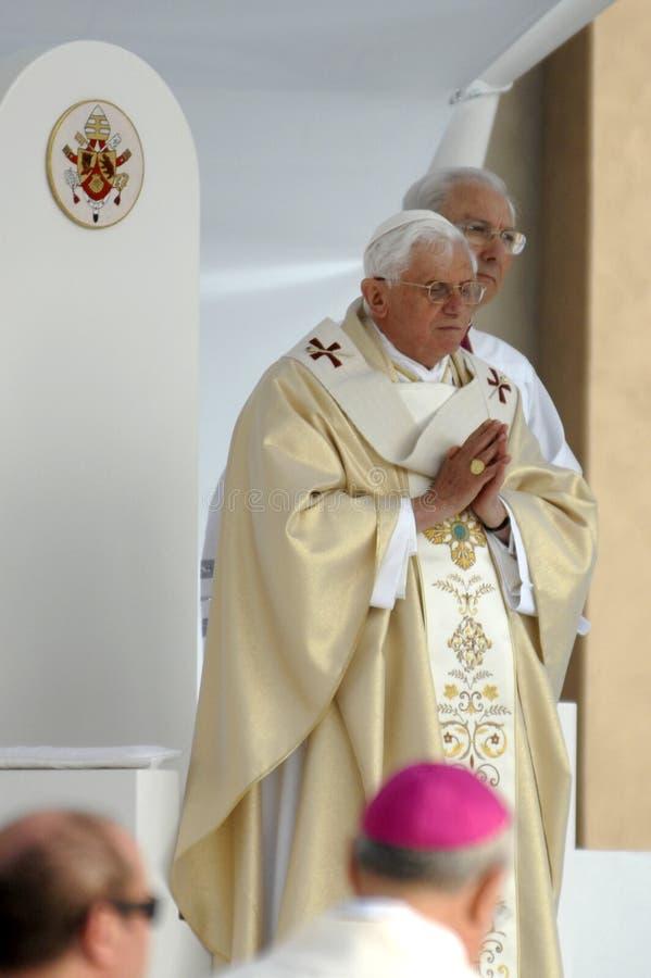 Paus Joseph Benedict XVI stock foto's