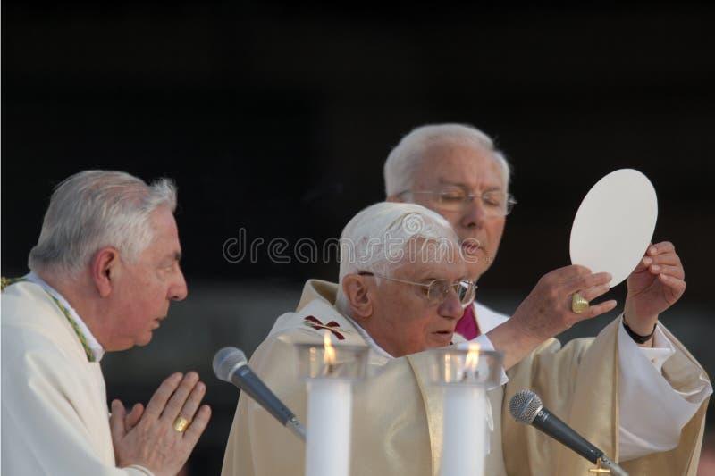 Paus Joseph Benedict XVI Redactionele Fotografie