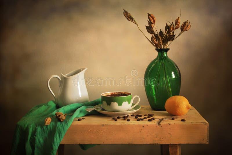 Pausa agradável do café fotografia de stock
