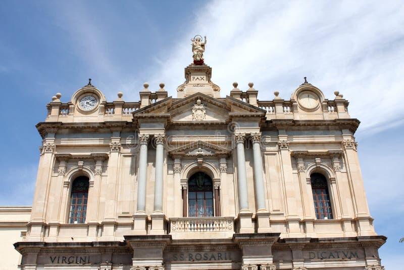 Pauselijk Heiligdom van Heilig Virgin van de Rozentuin Pompei royalty-vrije stock afbeelding