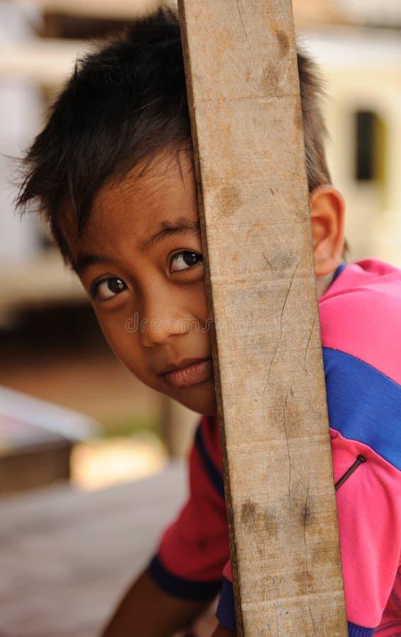 pauvreté d'enfants images stock