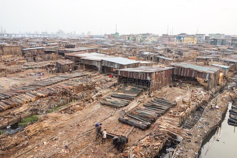Pauvreté en Afrique images stock