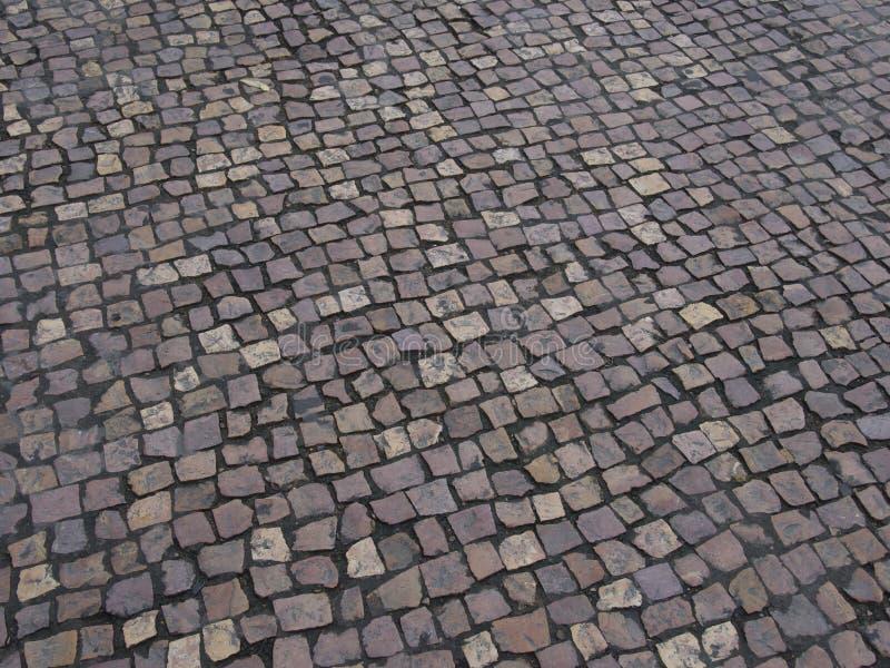Pavés ronds de rue image libre de droits