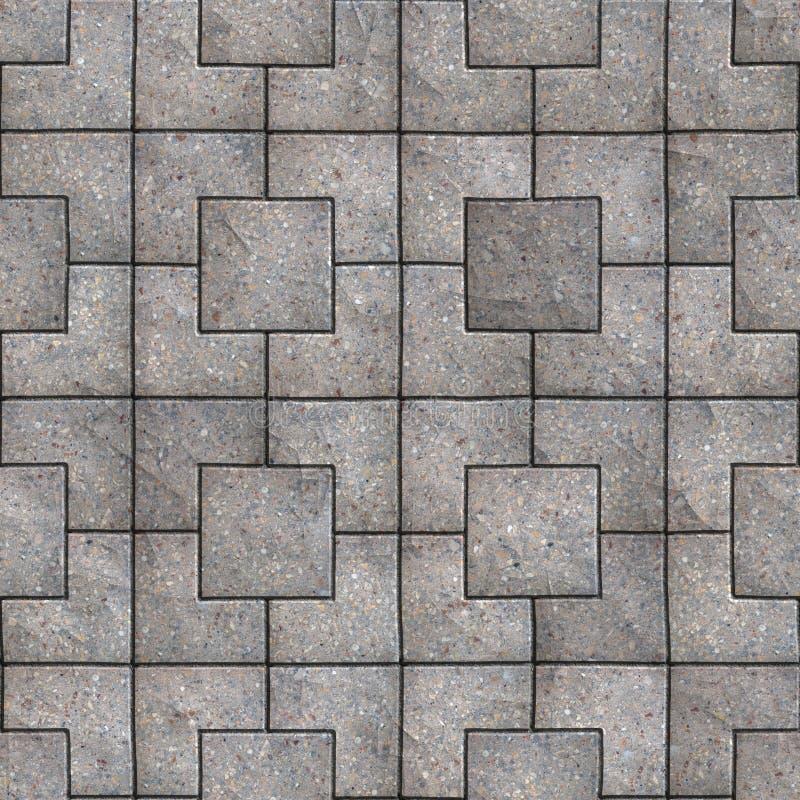 Pavés. Texture sans couture de Tileable. image stock