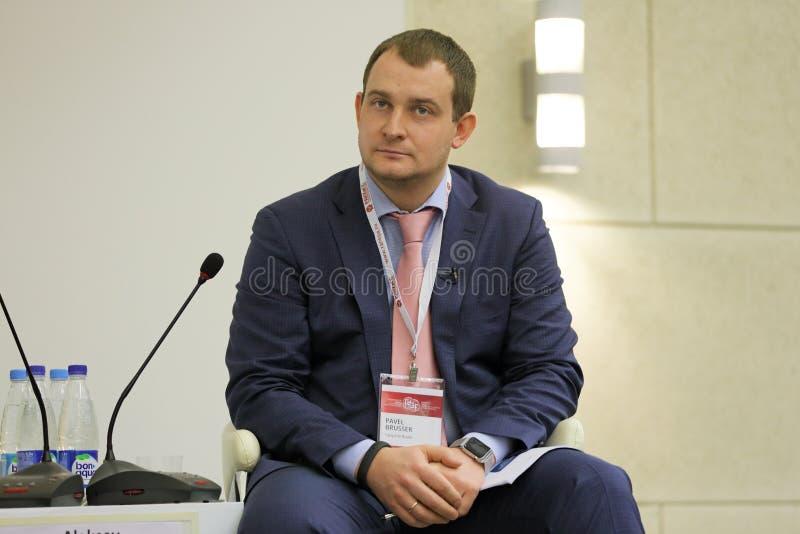 Pavel Brusser foto de stock