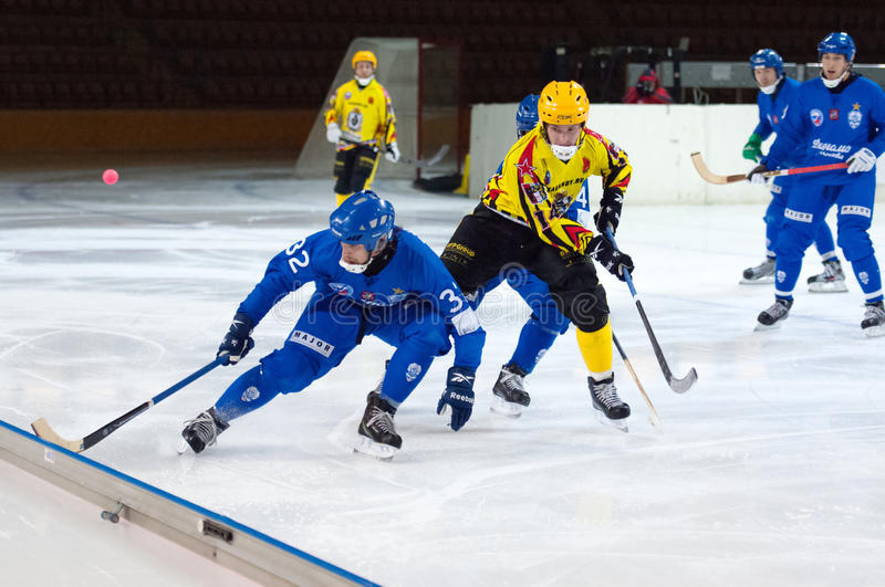 Pavel Bulatov (32) in action stock photography