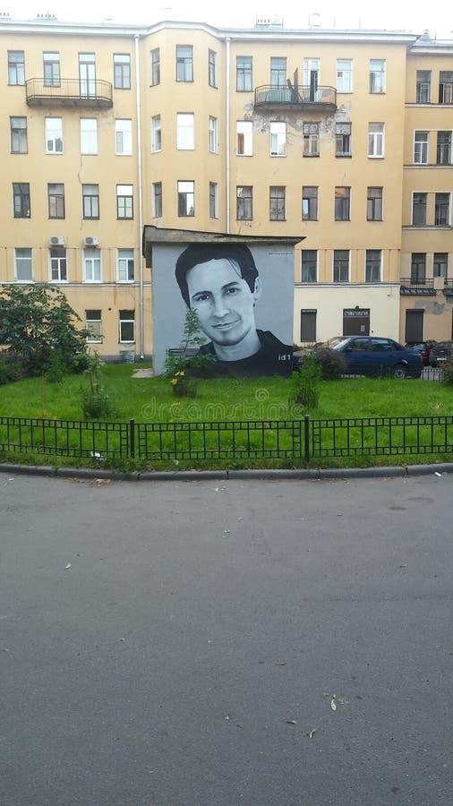 Pavel Durov lizenzfreie stockbilder