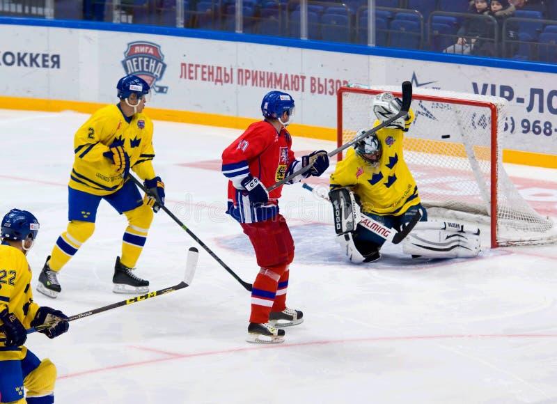 Pavel Patera (10) score royalty free stock images