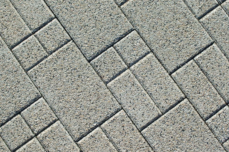 Pavement bricks texture stock photography