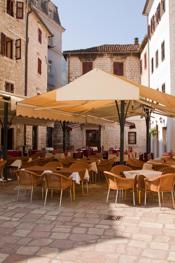Download Pavement Cafe stock photo. Image of square, european - 17309014