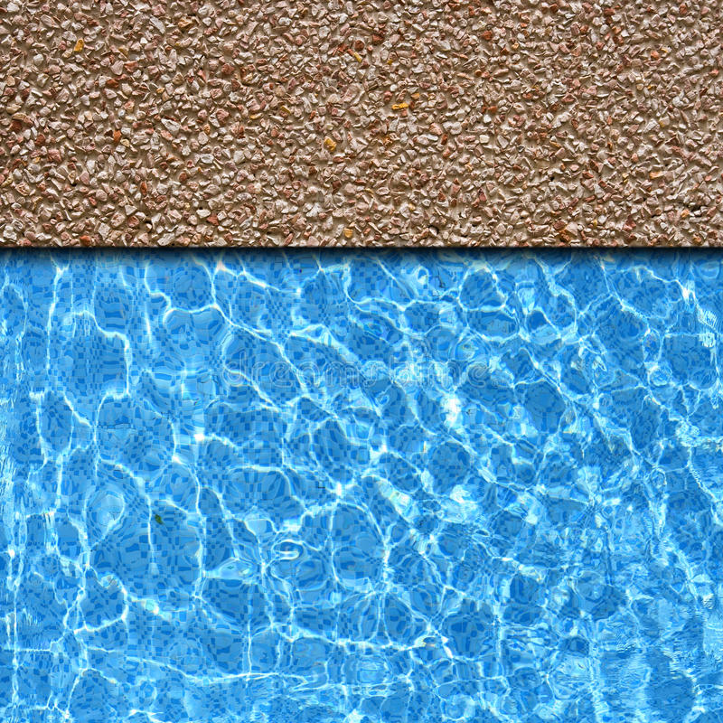 Pavement Pool Stock Photo