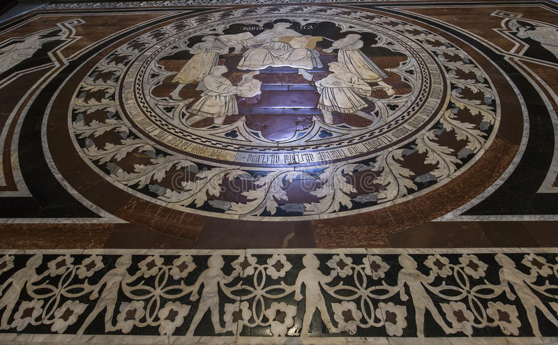 Download The Pavement Of Siena Cathedral, Siena, Italy Editorial Stock Photo - Image: 83703958