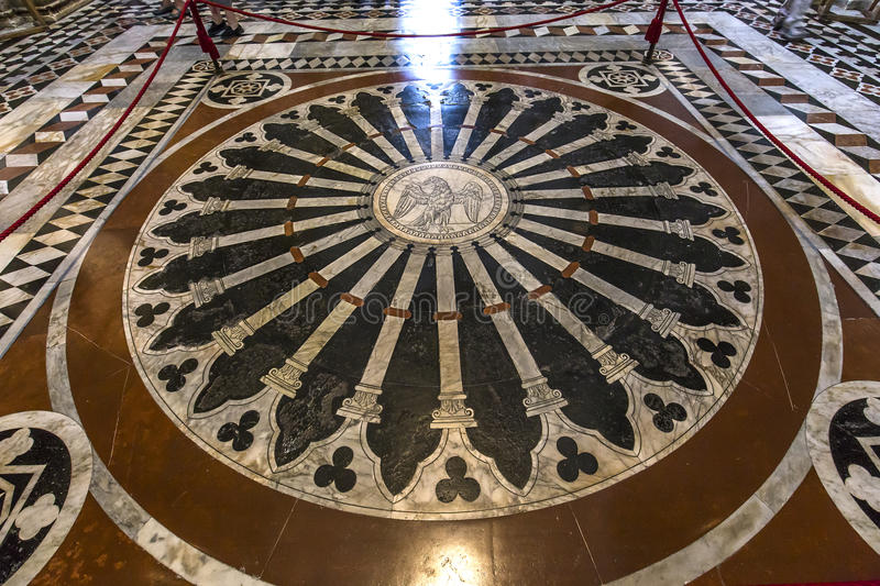 Download The Pavement Of Siena Cathedral, Siena, Italy Editorial Stock Photo - Image: 83709588