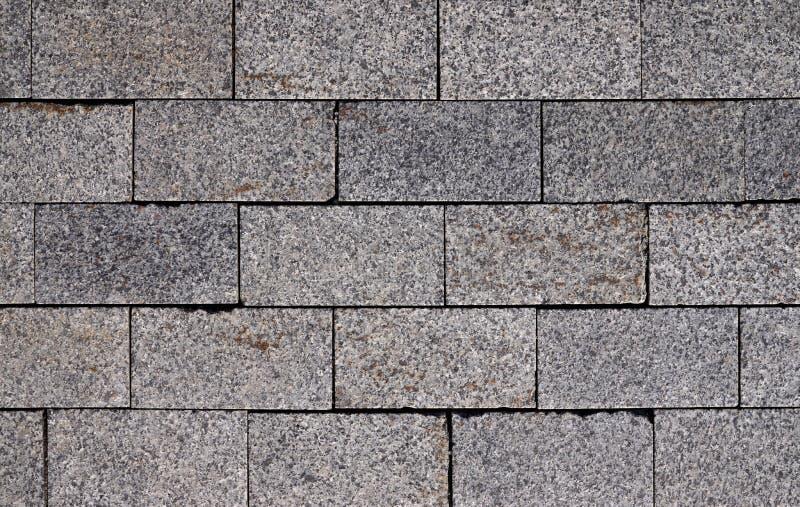 Pavement of stone blocks royalty free stock image
